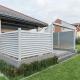 nowoczesne ogrodzenie tarasowe bielsko